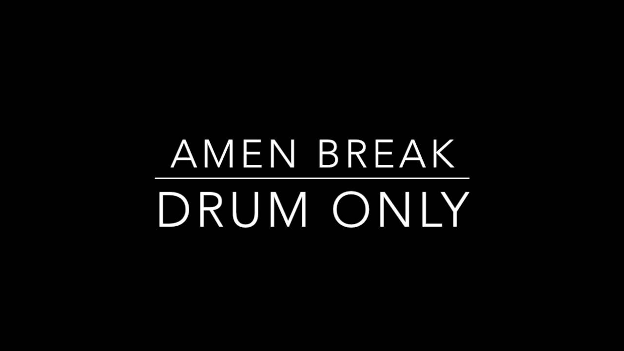 amen break The amen break drum beat is one of the most sampled drum breaks in history here we break it down and learn how to play it on the drums it includes.