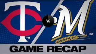 Marwin's go-ahead HR lifts Twins to 7-5 win | Twins-Brewers Game Highlights 8/13/19