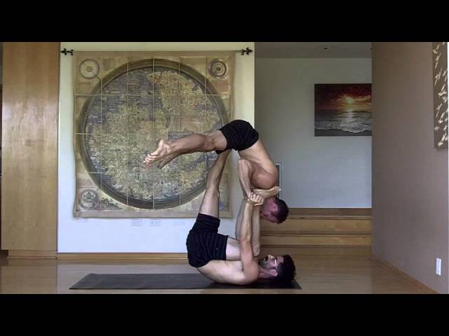 AcroYoga Training Video: Reverse Star (courtesy of Daniel Scott Yoga)