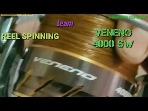 Review 👉REEL KAMIKAZE VENENO 4000 SW 🆚Joran HUMMER HEAD CYBER SHOT