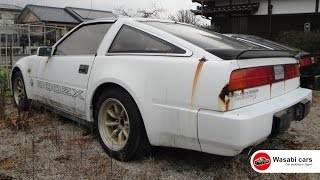 Abandoned Nissan 300ZX Fairladys, Z31 Coupes and 2+2, Mazda RX-7 Infini (FC) & Honda CR-X