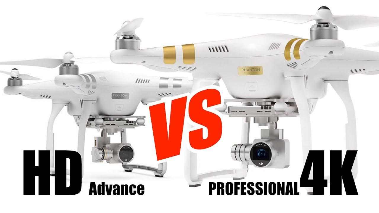 Phantom 3 Professional & Advanced Comparison - HeliPal com