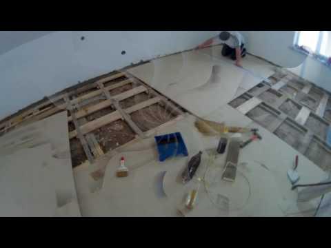 видео: Делаем полы и перегородки на мансарде, со звукоизоляцией.