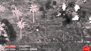 AC-130 gunship engages patrol [22oct2014 preview 1/3]