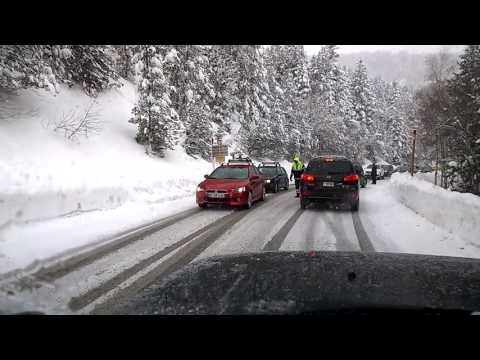 What happens when you don't bring snow tyres to Andorra