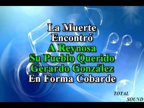 karaoke  Gerardo Gonzalez  Diferentes De La Sierra