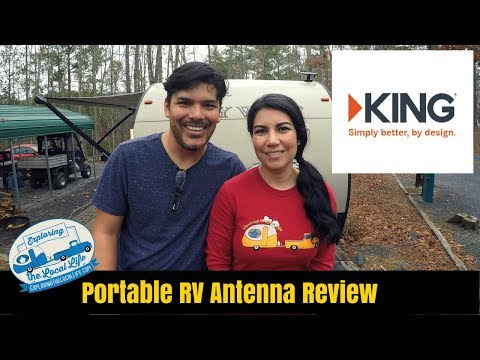 RV Portable Antenna – Review – Full Time Travel Trailer Living