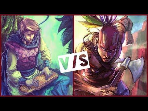 Duelos Mitos y Leyendas #6 Héroe Guardián V/S Dragón/Guerrero