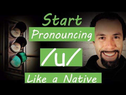 How to say food (u) in American English Pronunciation Video Tutorial