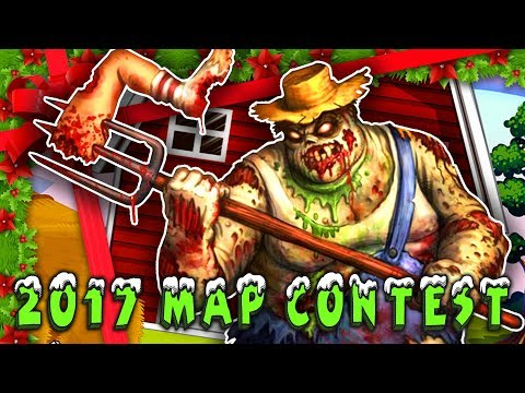 Christmas Farm Zombies (Black Ops 3 2017 Zombie Map Contest)