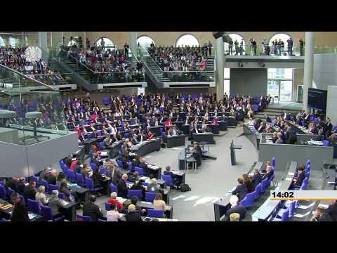 Bundestag: Generalaussprache im Parlament