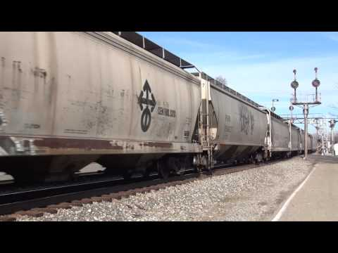 Cincinnati Area Railfanning Part 1 Hamilton & Glendale, Ohio CSX NS KCS ICE CN SP