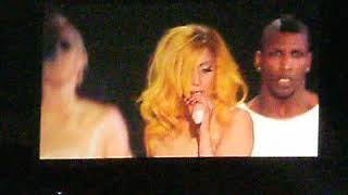 I Was Born This Way By Lady Gaga Concert February 22, 2011