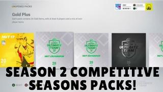 NHL 17 COMPETITIVE SEASONS SEASON 2 REWARD PACK OPENING!
