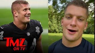 NFL's Carl Nassib Announces He's Gay, 'I Truly Love My Life' | TMZ TV
