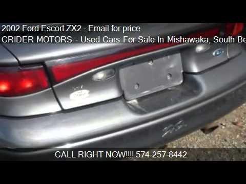 2002 ford escort zx2 standard for sale in mishawaka in for Crider motors mishawaka in