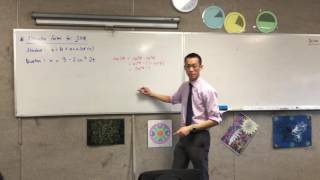 Alternate Forms for Simple Harmonic Motion (Example 1 of 2)
