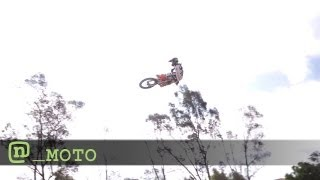 Motocross Pro Nate Adams Rides Again Post Injury to Train for X Games 2012