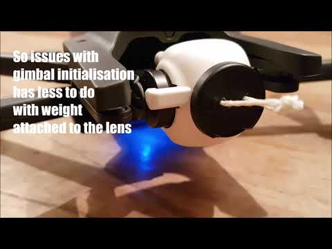 Parrot Anafi Lens Gimbal Initialisation Issue - YouTube