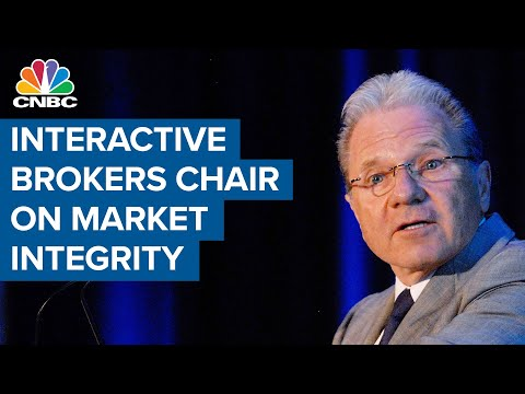 Interactive Brokers chairman: Worried about integrity of the market