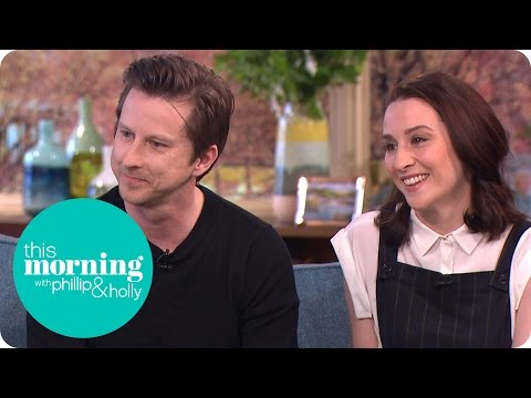 Lee Ingleby And Morven Christie On The AWord  This Morning