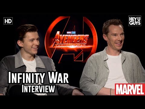 Benedict Cumberbatch & Tom Holland on the otherworldly Avengers Infinity War - Interview