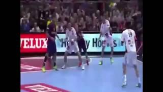 Handball  красивый гол в гандболе
