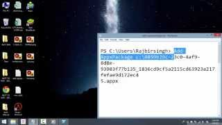 Download how to install appx file in windows 8.1 Mp3 and Videos