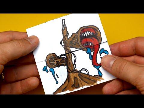 TUTORIAL SIREN HEAD, LONG HORSE, CARTOON CAT, CARTOON DOG Transformations   Endless Card