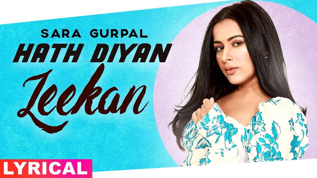 Hath Diyan Leekan (Cover Lyrical)   Sara Gurpal   Parmish Verma   Yash Wadali   Wamiqa Gabbi