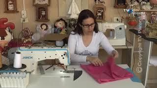 Touca fácil com elástico por Estela Junqueira