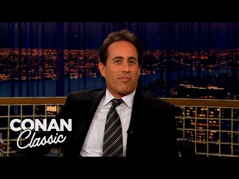 """Jerry Seinfeld: Everything In New York Is Irritating - """"Late Night With Conan O'Brien"""""""
