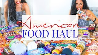 MASSIVE AMERICAN FOOD HAUL! The most delicious food ever!