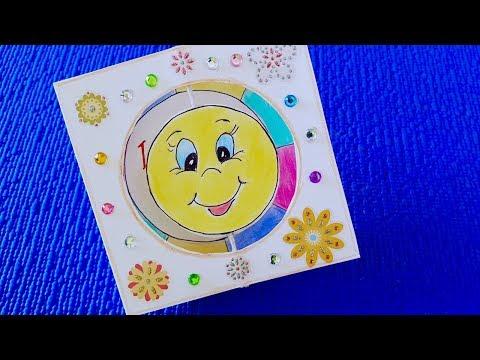 DIY Emoji Paper Magic Card - Emoji Crafts With Paper