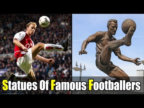 Statues Of The Most Famous Footballers - 2017