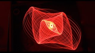 Sand, light pendulums-Lissajous patterns-part two // Homemade Science with Bruce Yeany