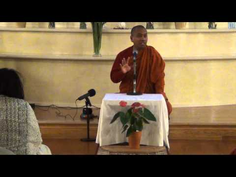 Bhante Saranapala Four types of individuals - October 1, 2014