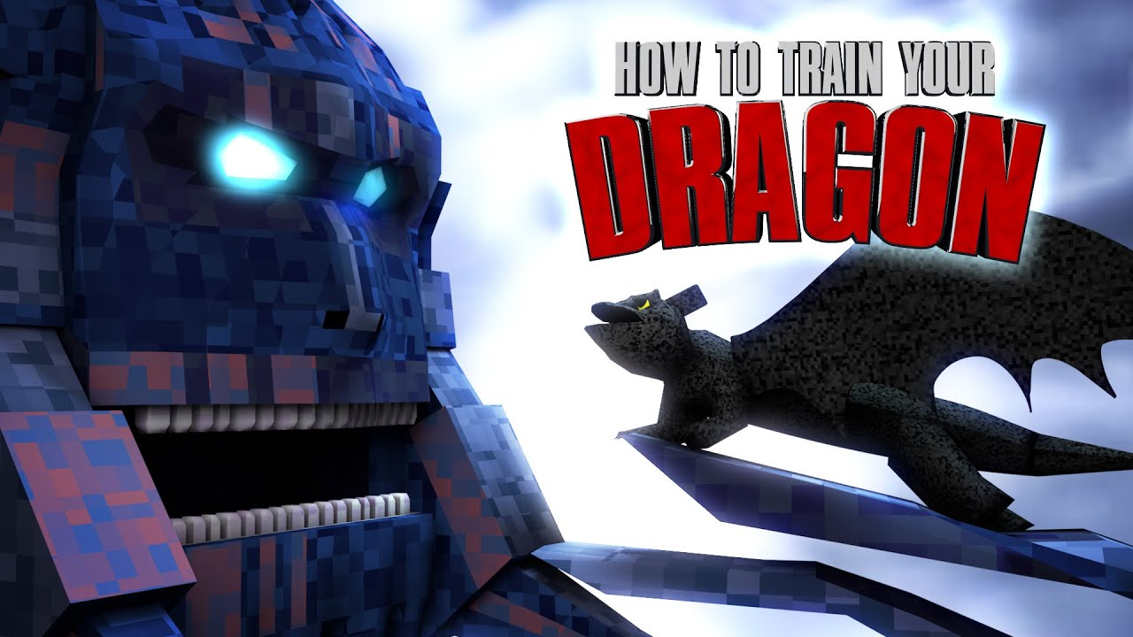 minecraft | how to train your dragon mod showcase! (toothless