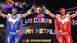 WWE 2K17 Community Showcase PS4 : Gran Metalik by Eamonn120385(Entrance,Signatures & Finishers)
