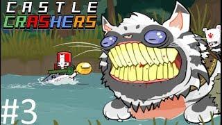 ДИКИЕ КОШАКИ【Castle Crashers】#3