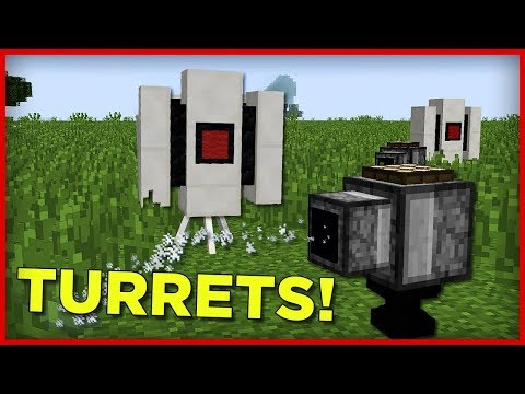 Defence Turrets In Minecraft 1.13