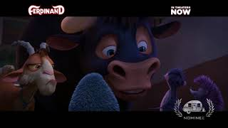"Ferdinand ""Week Before Xmas""Nominee Best Animation : Family TV Spot for a Feature Film GTA 19 2018"