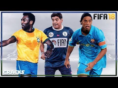 Los MEJORES ICONOS del FIFA 18 ¡Que CRACKS!