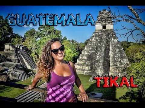 Guatemala,Tikal,Mayan Ruins - Trip to Mexico,Belize,Honduras - Ep18 -Travel,vlog,calatorii