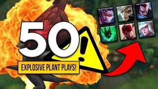 TOP 50 MOST EPIC PLANT MOMENTS FT. (IMAQTPIE, GOSU, IWILLDOMINATE, VOYBOY, TPA TOYZ AND MORE!)