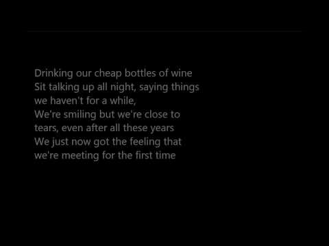 The Script-For The First Time [LYRICS]