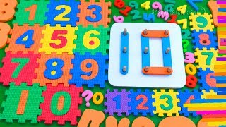 Number Song - 123 Numbers - 1 To 10 Counting for Kids