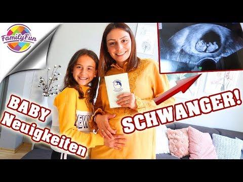 EDA ist SCHWANGER !!! BABY NEUIGKEITEN - ULTRASCHALL VIDEO bei Family Fun