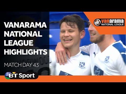 Vanarama National League Highlights Show | Matchday 43