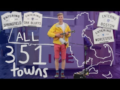 Making A Song In Every Town In Massachusetts